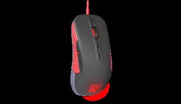Miš STEELSERIES Rival Dota 2 Edition, optički, 6500cpi, crni, USB