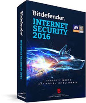 BITDEFENDER Internet Security 2016, 3usr, retail