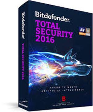 BITDEFENDER Total Security 2016, 3usr, retail