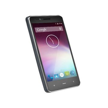 "Smartphone NOA E1, 4,5"" qHD multitouch, QuadCore MTK 6735M 1.5GHz, 1GB, 8GB Flash, Dual SIM, BT, 4G/LTE, 2x kamera, Android 5.1, sivi + SmartWatch NOA"