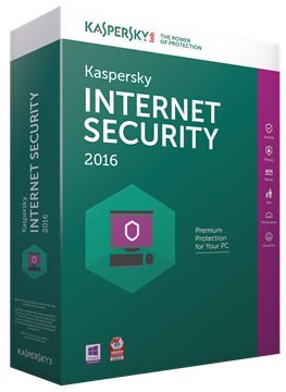 KASPERSKY Internet Security 2016, 1 PC, licenca jedna godina, retail + 1 gratis retail
