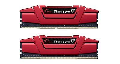 Memorija PC-24000, 16 GB, G.SKILL Ripjaws V Series, F4-3000C15D-16GVRB, DDR4 3000MHz, kit 2x8GB