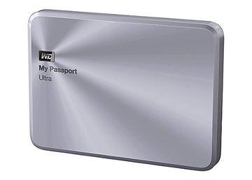 """Tvrdi disk vanjski 2000.0 GB, WESTERN DIGITAL My Passport Ultra Metal Edition Silver WDBEZW0020BSL, USB 3.0, 5400 okr/min, 2.5"""", metalno srebrni"""