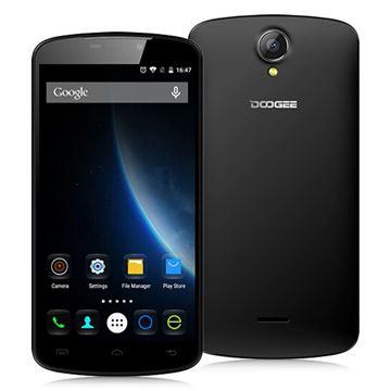 "Smartphone DOOGEE X6, 5.5"" multitouch, QuadCore MTK6580 1.3GHz, 1GB RAM, 8GB Flash, Dual SIM, kamera, BT, GPS, Android 5.1, crni"
