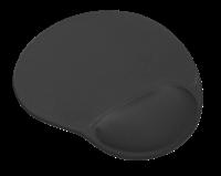 Podloga za miš TRUST BigFoot, sa pjenastom izbočinom za zapešće, crna