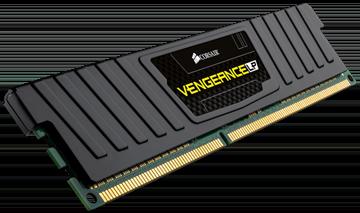 Memorija PC-12800, 8 GB, CORSAIR CML8GX3M1A1600C10 Vengeance LP black, DDR3 1600 MHz