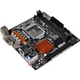 Matična ploča ASROCK B150M-ITX, Intel B150, DDR4, zvuk, S-ATA, G-LAN, PCI-E 3.0, DVI, HDMI, USB 3.0, mITX, s. 1151