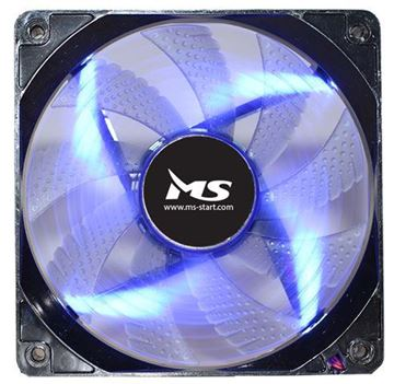 Ventilator MS PC Cool, 120mm, plavi LED, 1800 okr/min