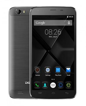 "Smartphone DOOGEE T6, 5.5"" multitouch, QuadCore MTK6735 1.0GHz, 2GB RAM, 16GB Flash, Dual SIM, 4G/LTE, kamera, BT, GPS, Android 5.1, crni"