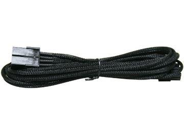 Kabel NZXT CB-8V, 6 Pin to 6+2 Pin VGA Sleeved, crni