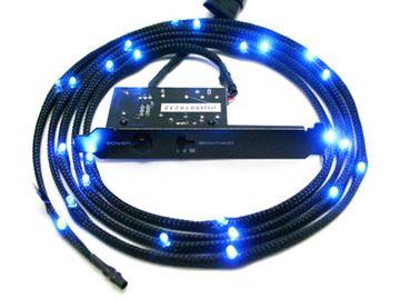 LED osvjetljenje NZXT Sleeved LED Kit CB-LED20-BU, plavo, 2m