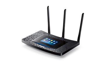 ADSL router TP-LINK AC-1900, 802.11a/b/g/n/ac, Touch Screen Gigabit Touch P5 Ruter, 4GB LAN + 1GB WAN, 3 antene, USB 3.0, USB 2.0, bežični