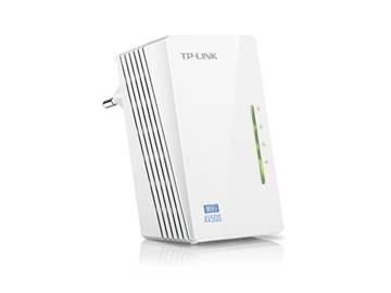 Powerline adapter TP-LINK TL-WPA4220, mreža putem postojećih električnih instalacija, 300Mbps WiFi extender, 2x LAN