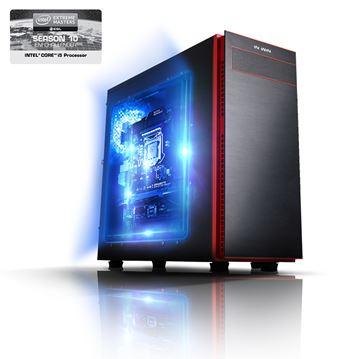 Računalo LINKS Intel Extreme Masters Challenger / Intel Core i5 6600K (3.5GHz), 8GB DDR4, 120GB SSD, 1000GB, nVIDIA GTX 960, vodeno hlađenje, Windows 10