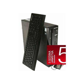 Računalo LENOVO ThinkCentre Edge 73 10DUS00G00 / Intel i5-4460S 2.90GHz, 4GB, 1000GB, DVDRW, Radeon HD 7450 (DVI+DP), G-LAN, tipkovnica, miš, Windows 8.1PRO / Windows 7 PRO