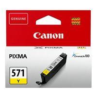 Tinta CANON CLI-571y, žuta, za Pixma MG5750/MG5751/MG6850/MG6851/MG7750/MG7751