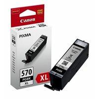 Tinta CANON PGI-570bk XL, za Pixma MG5750/MG5751/MG6850/MG6851/MG7750/MG7751, crna