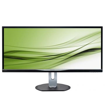 "Monitor 34"" LED PHILIPS BDM3470UP, 5ms, 320cd/m2, 40,000,000:1, AH IPS, D-Sub, DVI, MHL- HDMI, DP, USB 3.0, crni - razred energetske učinkovitosti B"