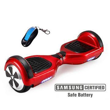 "Balance scooter XPLORER  board City red 6"""