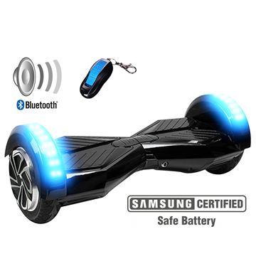 "Balance scooter XPLORER  board Sport  black 8"""