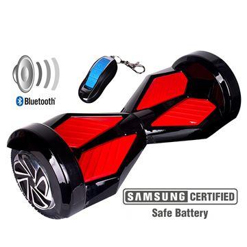 "Balance scooter XPLORER  board Sport red 8"""