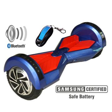 "Balance scooter XPLORER  board Street blue 6"""