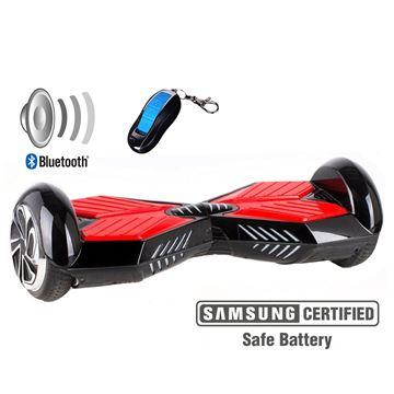 "Balance scooter XPLORER  board Street red 6"""