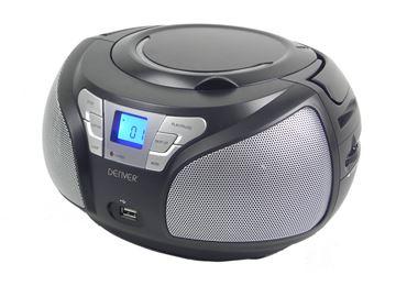 Prijenosni CD radio uređaj DENVER TC-22C, crni