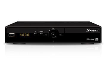 TV tuner STRONG SRT7004, DVB-S2, SCART,  HDMI, USB, LAN, satelitski