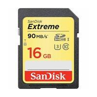 Memorijska kartica SANDISK, SDHC Extreme, 16 GB, SDSDXNE-016G-GNCIN, class 10 UHS-I U3