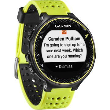 Sat GARMIN Forerunner 230, GPS, za trčanje, crno-žuti