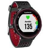 Sat GARMIN Forerunner 235, GPS, za trčanje, ugrađen senzor otkucaja srca, crno-crveni