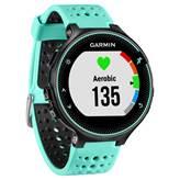 Sat GARMIN Forerunner 235, GPS, za trčanje, ugrađen senzor otkucaja srca, crno-plavi