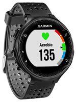 Sat GARMIN Forerunner 235, GPS, za trčanje, ugrađen senzor otkucaja srca, crno-sivi