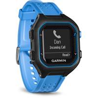 Sat GARMIN Forerunner 25, GPS, za trčanje, crno-plavi