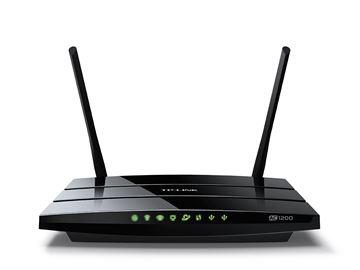 ADSL router TP-LINK AC-1200, 802.11a/b/g/n/ac, Dual Band Gigabit Archer C5 Ruter, 4GB LAN + 1GB WAN, 2 antene, USB 2.0, bežični