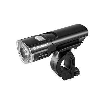 Svjetlo za bicikl GIANT LED HL2.0, crno, prednje, 1 lampica