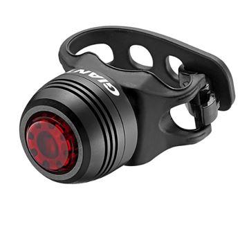 Svjetlo za bicikl GIANT LED Numen Click, crno, stražnje, 1 lampica