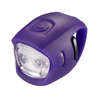 Svjetlo za bicikl GIANT LED Numen Mini, ljubičasto, prednje, 2 lampice