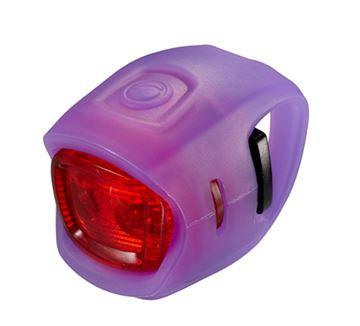 Svjetlo za bicikl GIANT LED Numen Mini, ljubičasto, stražnje, 2 lampice