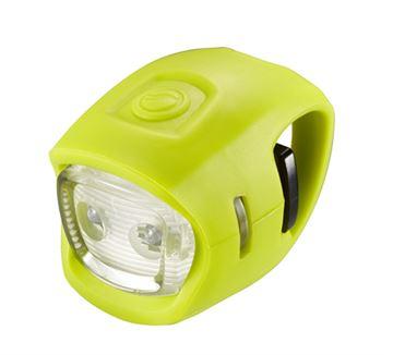 Svjetlo za bicikl GIANT LED Numen Mini, zeleno, prednje, 2 lampice