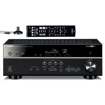 AV prijemnik YAMAHA RXV 479 BL, 4K UHD, USB, 5.1, BT,  Wi-Fi, AirPlay, crni