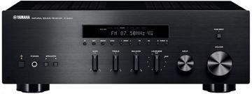 HI-FI receiver YAMAHA RS 300 BL, iPhone, iPod, BT, crni