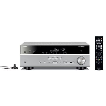 AV prijemnik YAMAHA RXV 479 TI, 4K UHD, USB, 5.1, BT,  Wi-Fi, AirPlay, titan
