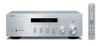 HI-FI receiver YAMAHA RS 300 SL, iPhone, iPod, BT,srebrni