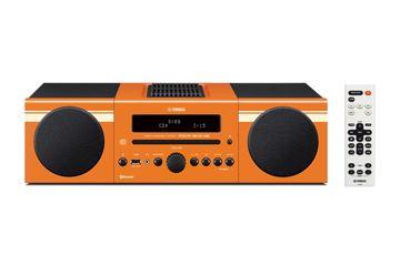 Micro HI-FI linija YAMAHA MCR B043 ORANGE, USB, FM radio, CD player, BT, AUX