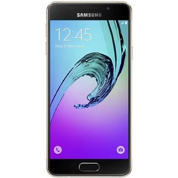 "Smartphone SAMSUNG Galaxy A3 A310F, 4.7"" Super AMOLED touchscreen, QuadCore Cortex A53 1.5GHz, 1,5GB RAM, 16GB Flash, 4G LTE, BT, 2x kamera, Android 5.1.1, crni"