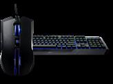 Tipkovnica + miš COOLERMASTER Devastator II, US layout, USB, plavi backlight