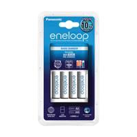 Punjač baterija Eneloop Basic KKJ51MCC40E, 4 mjesta za punjenje + 4x 1900mAh AA baterije