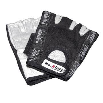 Fitness rukavice KINETA System, crne, L